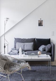 Small loft. Pella Hedeby for Lenca Properties, photographer Sara Medina Lind.