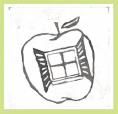 """DAY 100-(4/10/13) """"Window 2 My Apple""""  Change begins today! Everyday bears the gift of a new beginning. So take chances, step out the box, shake things up and most importantly, don't miss out on your WINDOW of OPPORTUNITY.....You never know what lies behind it. #REPIN #CarpeDiem!"""