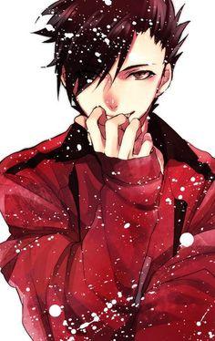 Haikyuu!! #anime #guy #brown eyes