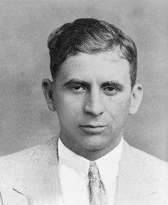 Meyer Lansky, involved with the founding of the American Mafia. Real Gangster, Mafia Gangster, Meyer Lansky, Einstein, Celebrity Mugshots, Empire Season, Al Capone, Boardwalk Empire, The Godfather