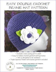 EASY CROCHETED HATS   Crochet For Beginners