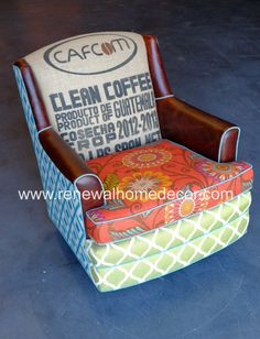 "Custom Order - Upholstered swivel club chairs ""Alice's Vibrant Swivel Clubs"" - SOLD - Price per chair"