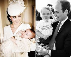 The official photographs from Princess Charlotte's Christening which took place on July 5th, 2015.