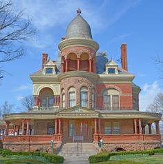 The Seiberling Mansion: I'm not sure I love this, but it's fascinating.