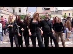 Multi-ethnic monastiraki flash mob, international day of dance