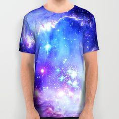Galaxy All Over Print Shirt