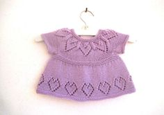 Peggy Cardi Knitting Pattern Baby girl by SuzieSparklesDesigns
