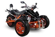 AUFGEBAUT EEC Spy Prime Trike ST14 350cc 2 Pers. Autobahn Zulassung 6-Gang…