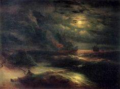 Ivan Konstantinovitch Aïvazovski - Christophe Colomb