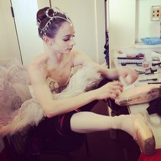 Maria Kochetkova. Photo via her FB fan page.