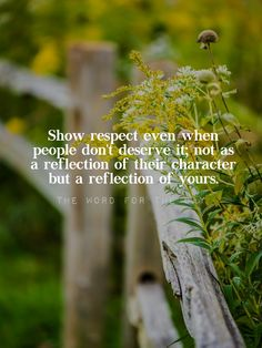 """The world has lost the value of showing respect and honouring authority. Look at what the Bible says about respecting others. Jesus said, """"If you love only those who love you, what good is that? Even gentiles do that., even as your Father in heaven..."""