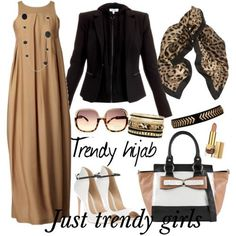 Trendy hijab style collection | Just Trendy Girls