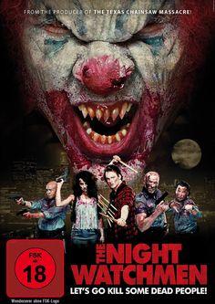 Diese Nachtwächter haben es nicht leicht, denn ein Horror-Clown und zahlreiche hungrige Zombies verderben ihnen die Nachtschicht im deutschen TRAILER zum FSK 18-Streifen The Night Watchmen: Trailer zum Horror-Splatter ➠ https://www.film.tv/go/36363  #Horror #Splatter #Comedy