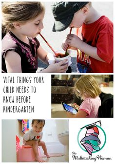 Vital Things Your Child Needs To Know Before Kindergarten | http://themultitaskingwoman.com/vital-things-child-know-before-kindergarten-preschool/
