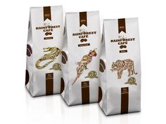 Rainforest Coffee on Packaging of the World - Creative Package Design Gallery