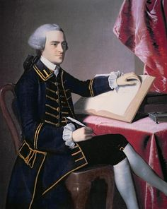 "John Hancock (USA founding father, signer the Declaration of Independence) When signing the Declaration he signed it so large he said, ""I want them to know it is my signature and they can come and kill me."""
