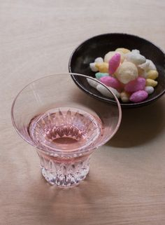 Shichi-hon-Yari Namazake in Edo Kiriko glass, by Kamata Kiriko, with  typical Girls' Day(Hinamatsuri) sweets, Hina-Arare.   As we head into March and spring is getting closer, one of our favorite  parts of the end of the winter road is here — namazake, which is the early  spring sake that, like it's fleeting cousin sakura (cherry blossoms), is  best enjoyed fresh and savored while it is here. Namazake appears just  after the sake brewing season ends, which happily is now.  Most sake is…
