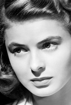 Ingrid Bergman.  The loveliness of her youthful beauty remains a timeless memory from the Golden Age of film.  L.M. Ross