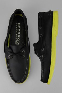 new style 35502 bac10 Sperry Top-Sider Neon Sole Boat Shoe Neon Top, Moda Men, Sperry Top