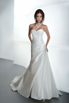 Sensualle Style GR235 by Demetrios. I LOVE this simple. But elegant. Dress!