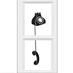 Off The Hook Print Set 11x14 now featured on Fab. [Rotary Phone, Rococco-LA Co]