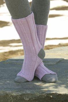 Strikkeopskrift på ragsokker | Strik sokker i alle farver | Lune sokker | pind 4 1/2