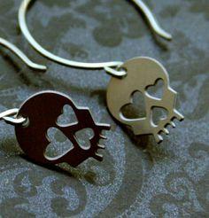 #skull #earrings