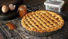 Recipes to try: pasta flora Greek Sweets, Greek Desserts, No Cook Desserts, Greek Recipes, Delicious Desserts, Pasta Flora Recipe, Cyprus Food, Cake Recipes, Dessert Recipes