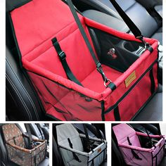 Dog Booster Car Seat Pet Travel Basket Breathable Puppy Car Carriers Hot Sale
