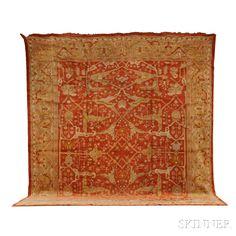 Ushak Carpet | Sale Number 2653B, Lot Number 301 | Skinner Auctioneers