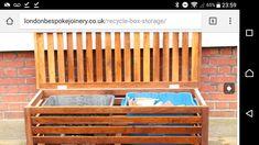Outdoor Furniture, Outdoor Decor, Outdoor Storage, Recycling, Box, Garden, Home Decor, Snare Drum, Garten