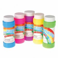 Rainbow Bubbles/2 Oz | Party Supply Store | Novelty Toys | Carnival Supplies…
