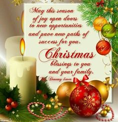 The 184 best merry christmas images on pinterest christmas cards may this season of joy open doors to new opportunities m4hsunfo