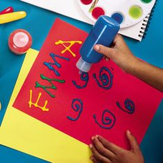 this would be fun to make. search playful preschool crafts on family fun website to find a list of more fun stuff.
