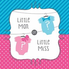 Gender Reveal, Bow or Bowtie Luncheon Napkins 192 ct, Price: $23.95