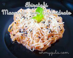 Já ouviu falar de macarronada que não engorda? É a macarronada de SHIRATAKI! Ou o Macarrão de Nada! O primeiro miojo sem calorias.   #ohmygula #fitfood #light #nocarb #lowcarb #comidasaudavel #comidafit #asianfood #macarrao #pasta #comida