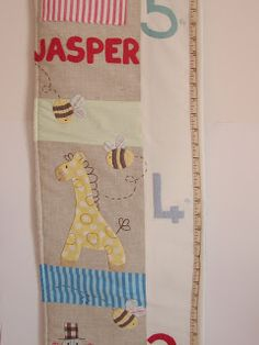Roxy Creations: More growth charts and cushions