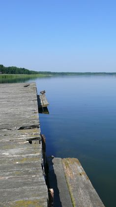 Old Pier at the Slawskie Lake (POLAND)