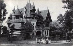 Cartes Postales Photos Le Castel Houlgate 14510 du calvados (