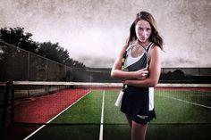 Edgy Portrait Information Tennis Senior Pictures, Senior Pics, Tennis Photography, Senior Portraits, Gates, Athletes, Pretty, Senior Session, Senior Photos
