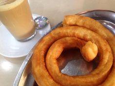 Café Y Churros De Málaga Con Acento