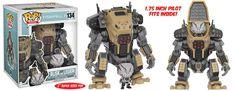POP Games Titanfall Super Sized 6-inch Funko POP Blisk and Legion Set 134 PREORDER