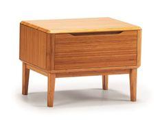 Greenington Currant 24'' x 18'' Rectangular Caramelized Nightstand