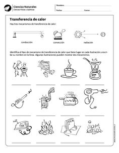 Transferencia de calor Music Activities For Kids, Science For Kids, Biology Projects, Heat Energy, Bilingual Education, Sistema Solar, Physical Science, Science Classroom, Interactive Notebooks