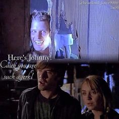 I love it. They stay at Hanley's barn and Caleb finds out......