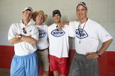 Cooper, Archie, Eli and Peyton Manning