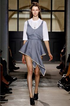 Christine Bass Spring/Summer 2013: skirt inspired by the handkerchief skirt of the 1920s and 30s