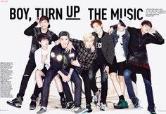 방탄소년단 BTS 쎄씨 Ceci 잡지 2014 10월호 화보 스캔 <BOY, TURN UP THE MUSIC> : 네이버 블로그