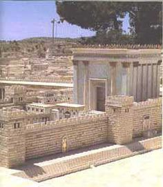 jewish temple   Model of the Holy Temple