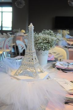 Ballerina in Paris - Eiffel Towwe with Tutu